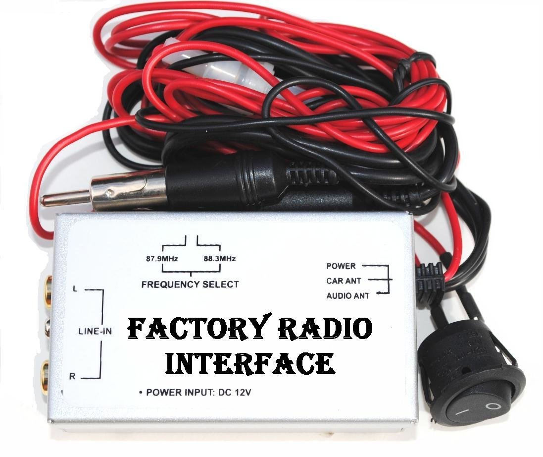 Amazon.com: Factory Radio Stereo RCA AUX Input Audio Adapter Wire FM ...