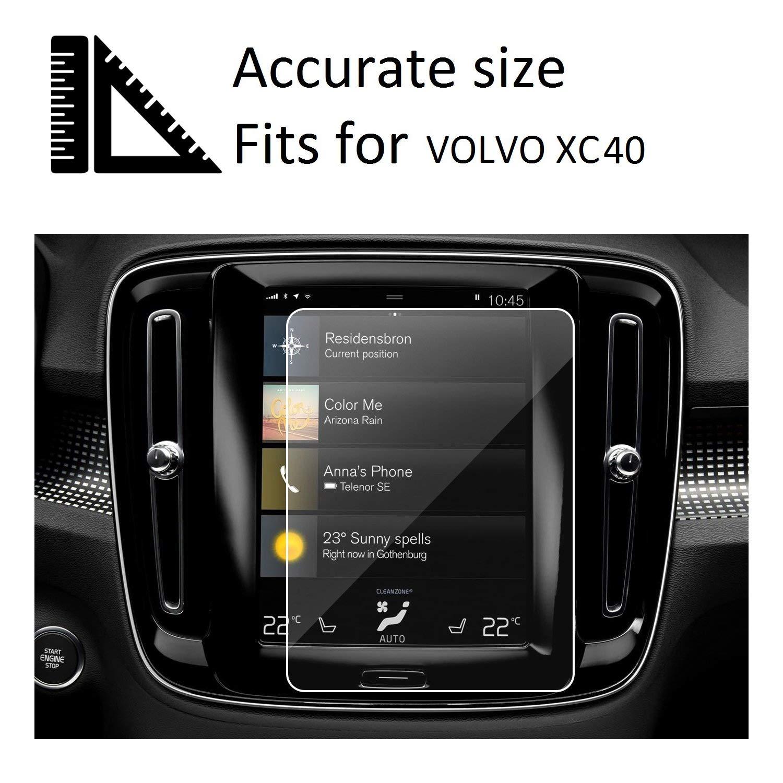 Amazon com: 2019 Volvo XC40 Screen Protector, Tempered Glass