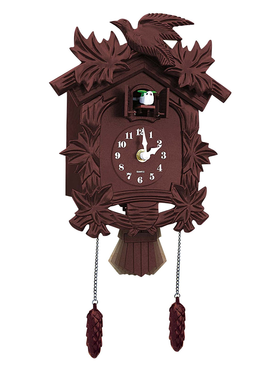 Carol Wright Gifts Newhall Old World Cuckoo Clock, Brown by Carol Wright Gifts