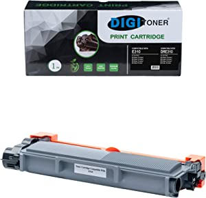 DIGITONER Compatible Toner Cartridge Replacement for Dell E310, Black [1 Pack]