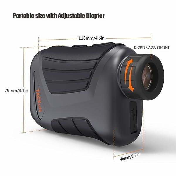 TACKLIFE MLR01 900 Yard Laser Rangefinder