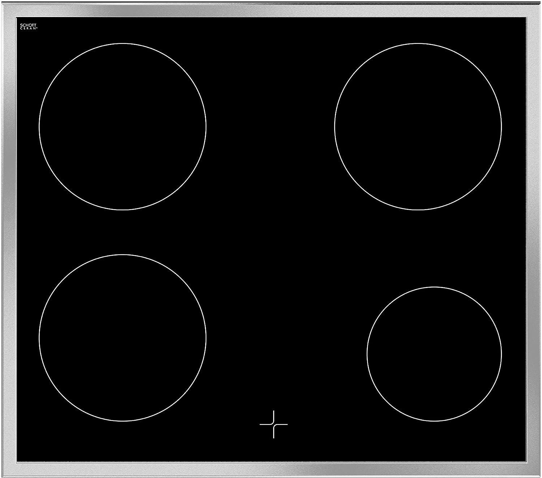 A 59,4 cm pflegeleichte Emaillierung Beko BUC22021X Backofen-Kochfeld-Kombination Einbau 71 L Nutzinhalt