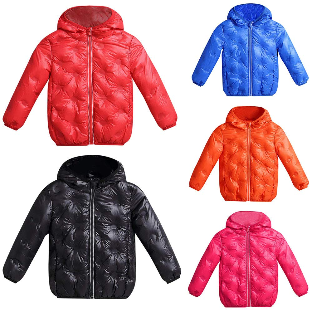 Kids Baby Winter Solid Coat Cloak Jacket Comfortable Casual Baby Clothes Thick Warm Hoodie Outerwear Clothes for Inside Outside Kids Solid Hoodie Outerwear Familizo Deals