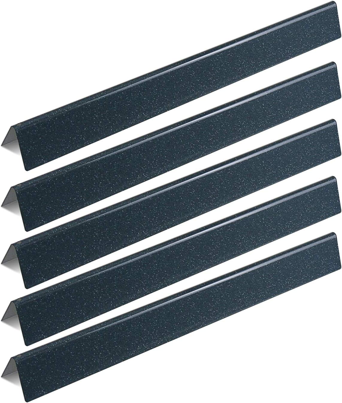 Utheer 7540 7539 Flavorizer Bars 24.5 Inches for Weber Genesis 300 Series E-310 E-320 S-310 S-320 EP-310 EP-320 CEP-310 CEP-320 (with Side Control), Replaces Weber 65935, Porcelain Enameled Steel
