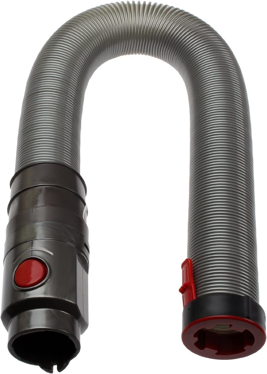 First4Spares Stretch Hose Attachment for Dyson DC65 DC-65 Upright Vacuum Cleaners Grey/Red