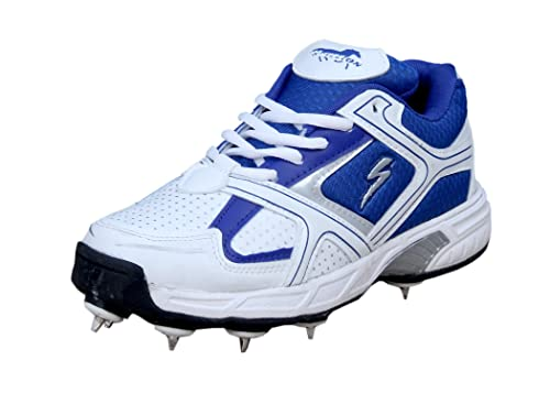 94ae02a2fff3e Stallion Sports Power Men's Full Spike Cricket Shoes: Buy Online at ...