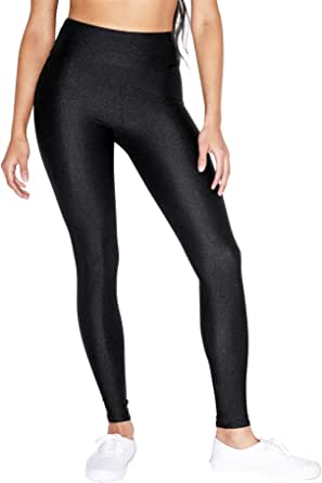 American Apparel Women's Nylon Tricot High Waist Legging