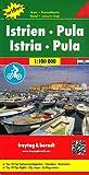 Freytag Berndt Autokarten, Istrien - Pula, Top 10 Tips - Maßstab 1:100.000 (freytag & berndt Auto + Freizeitkarten)