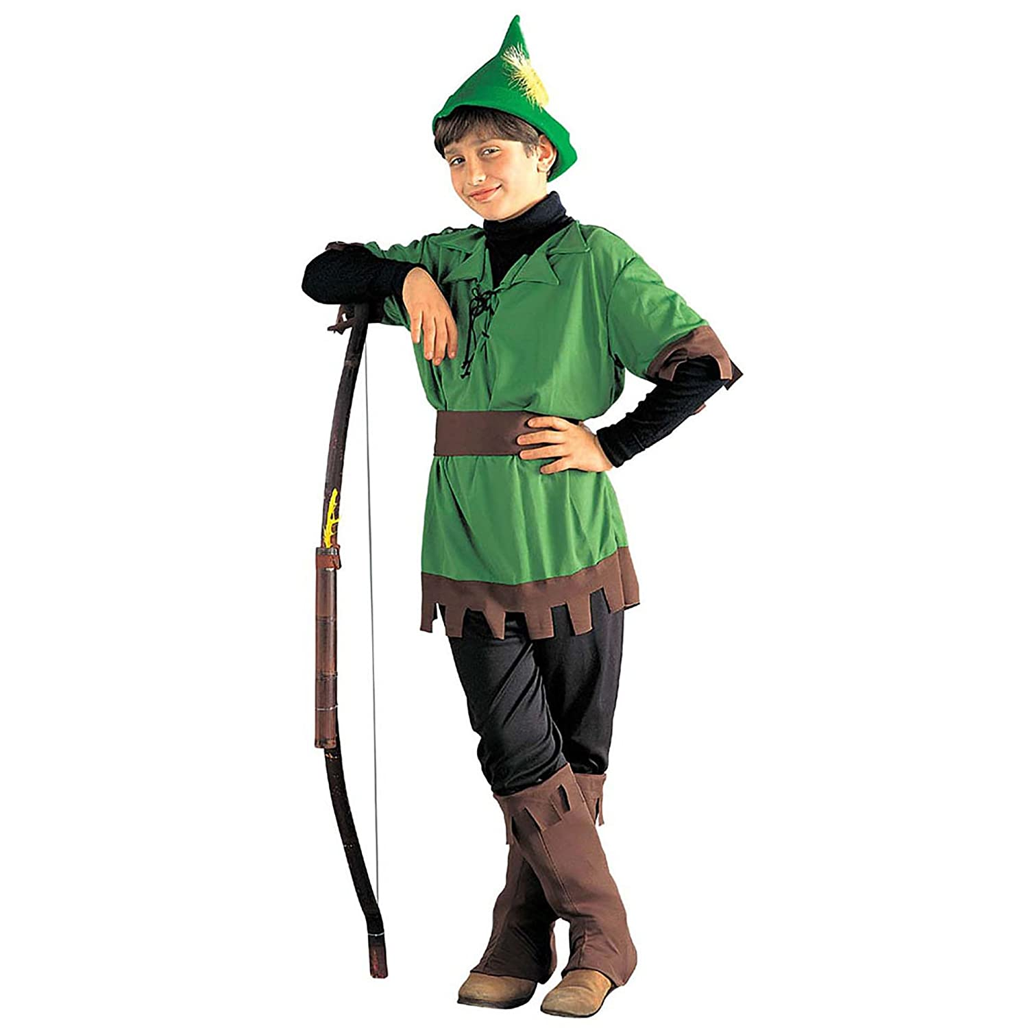 Children s Robin Hood 128cm Costume Small 5-7 yrs (128cm) for Middle Ages  Fancy Dress  Amazon.co.uk  Toys   Games 10eaf53412d3