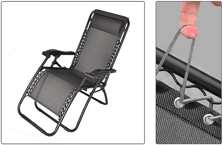 Cordoncino di ricambio universale per sedie a gravit/à OURLITIME lacci di ricambio per sedie a gravit/à strumento di riparazione per sedie a sdraio a gravit/à zero