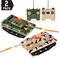Top 10 Best Remote Control Tanks Battle (2021 Reviews & Buying Guide) 2