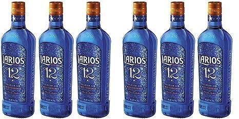 Larios 12 Botanicals Premium Gin 40% Vol. 6 x 0,7 l