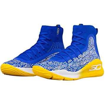 5ea2df1fc UnderArmour Curry 4 Mid 403 Under Armour, yellow, 5: Amazon.co.uk ...