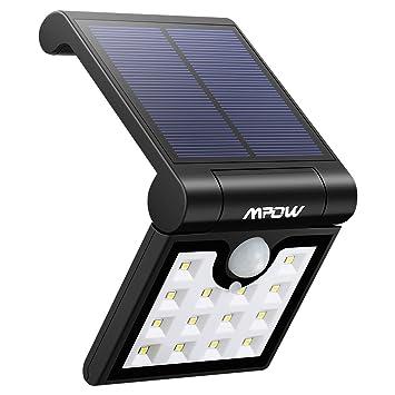 Luz solar con sensor de movimiento