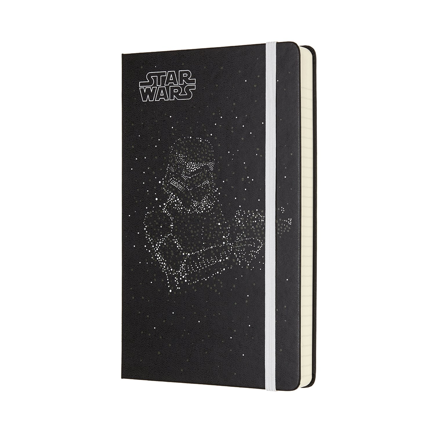 Moleskine Limited Edition Star Wars, 12 Month Daily Planner, Large, Stormtrooper (5 x 8.25)