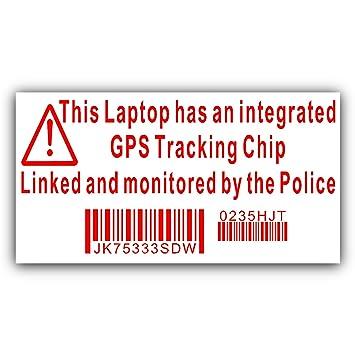 4 Pegatinas de Seguridad para Ordenador portátil, con diseño ...