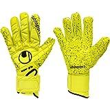 Mens UHLSPORT ELIMINATOR SUPERGRIP HN Goalkeeper Gloves For Football