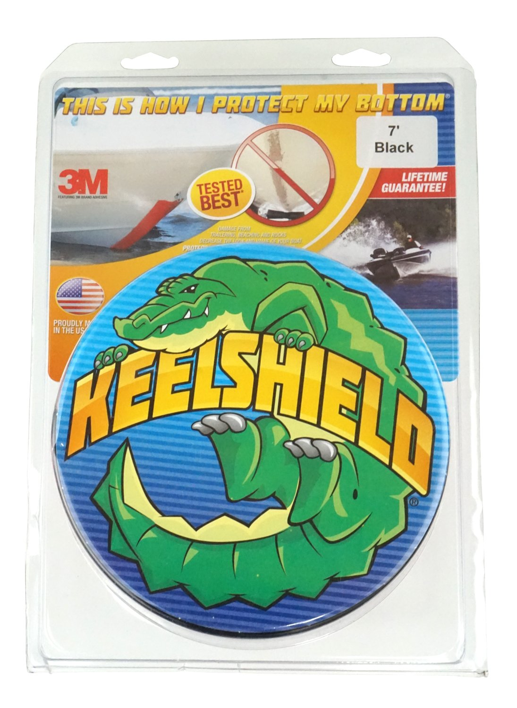 KeelShieldキールプロテクター B004C0MZ70 10-Feet|ブラック ブラック 10-Feet