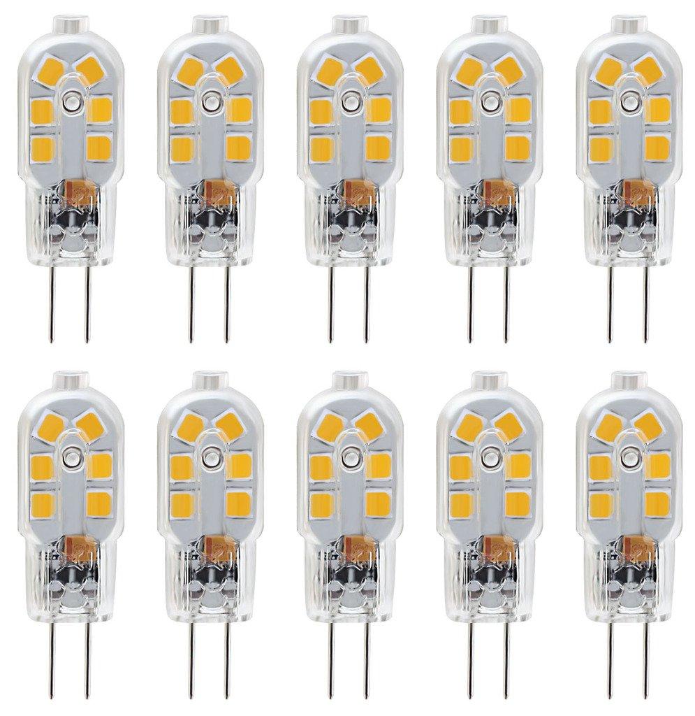 Led Bulb Dc: KINDEEP G4 LED Bulb, Bi-Pin Base, 20W Halogen Bulb