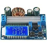 昇降圧コンバータ DROK 自動昇降圧ボード DC 5.5-30V 12V to DC 0.5-30V 5v 24v 調整可能な定電流電圧 ステップアップ電圧レギュレータ 4A 50W 電源モジュール