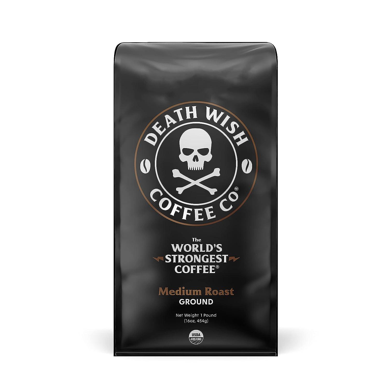 Death Wish Coffee Company's Ground Coffee