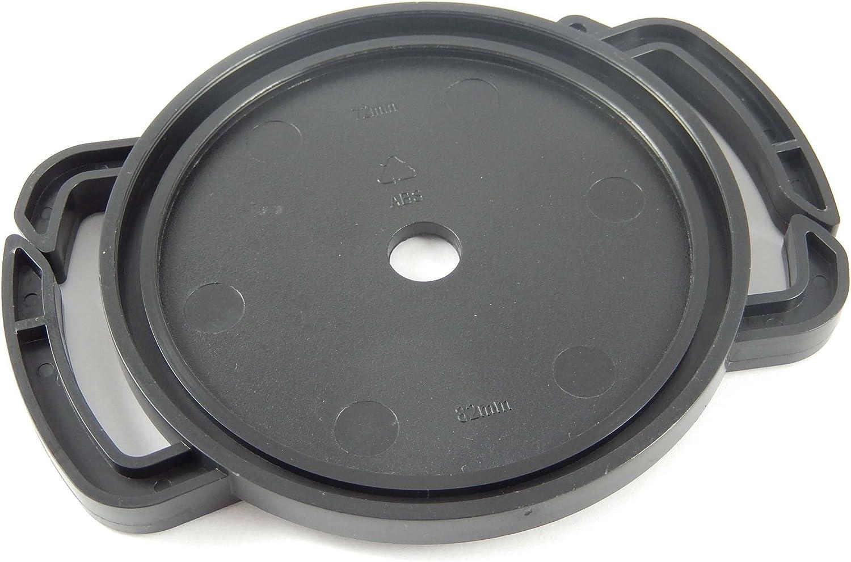 58mm pour cam/éra de Toute Marque Exemple Kodak Sigma vhbw fixateur de Capuchon d/´Objectif pour Capuchon d/´Objectif de diam/ètre 37mm Tamron 46mm