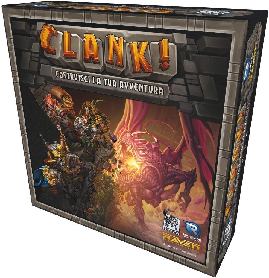 Raven Clank Giocco Edición Italiana, RDCL01: Amazon.es: Juguetes y juegos