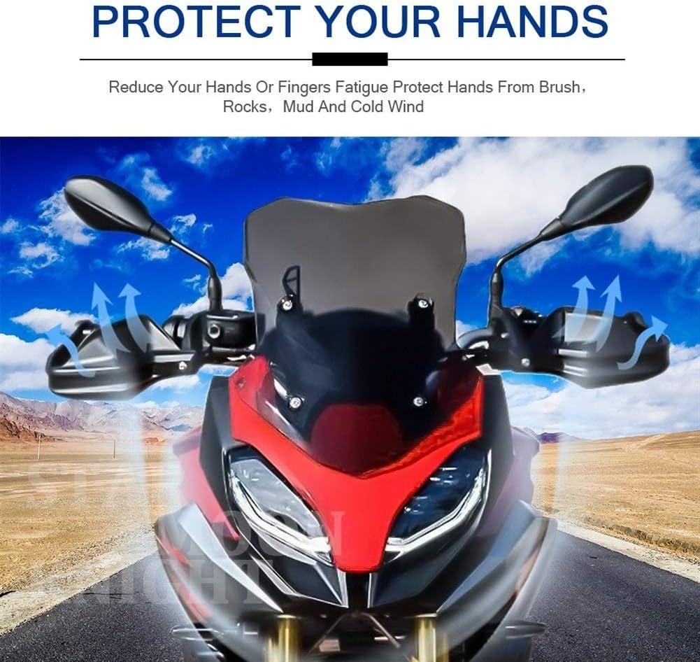 XIANGBAO QI LE bolsita for BMW F900R F900XR 2019 2020 Motocicleta Guardamanos Mano Escudo Protector del Parabrisas F 900 F 900 R XR Color : Transparent