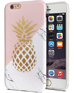best service ebc92 7ca05 Amazon.com: Pineapple Pop Socket Gold On Pink And White Marble ...