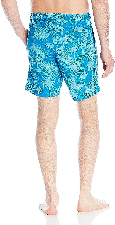 Laguna Mens Palm 7.5 Inch Swim Trunk