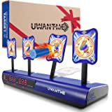 UWANTME Electronic Shooting Target Scoring Auto Reset Digital Targets for Nerf Guns Toys, Ideal Gift Toy for Kids-Boys & Girl