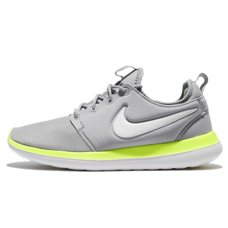NIKE Men's Roshe Two Running Shoe B003AKQ5VK 9 D(M) US|Wolf Grey/White/Volt