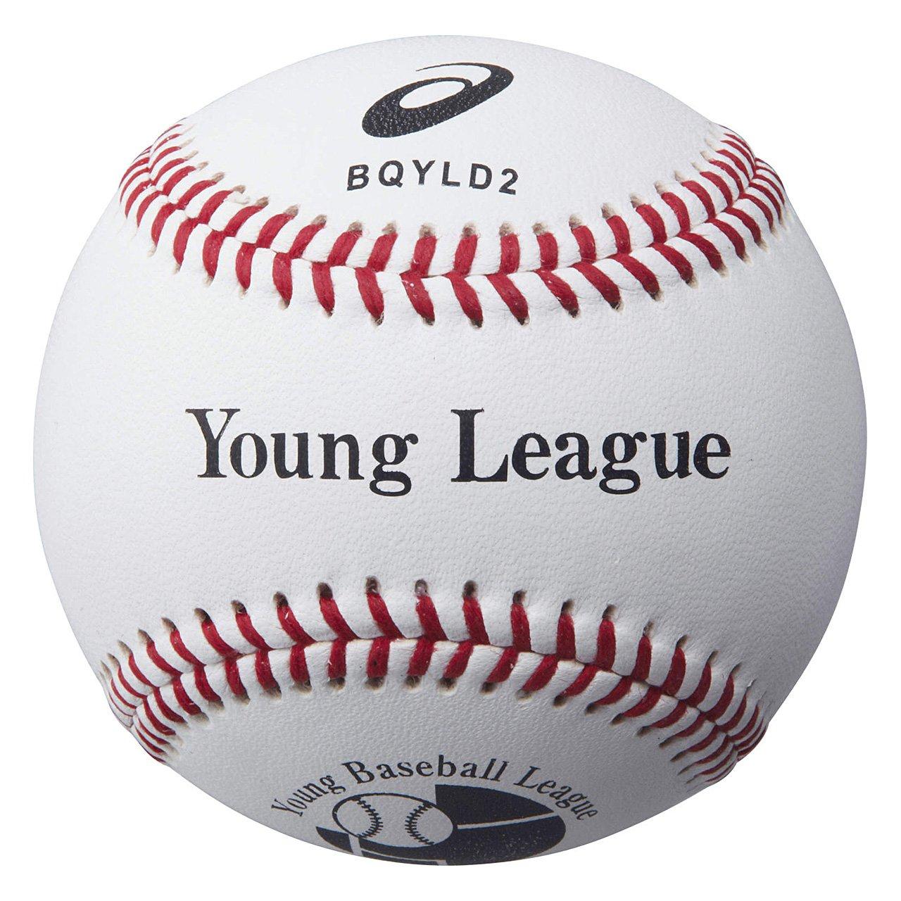 アシックス(asics) 野球 ボール ヤングリーグ 試合用 BQYLD2 B06XBZXHL8 F|ムジオンネーム ムジオンネーム F, あったらいーな本舗 965e2927