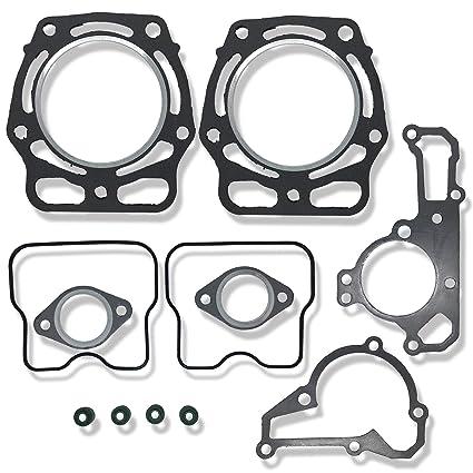 Top End Engine Gasket Kit Part for Kawasaki KAF620 Mule 2500 2510 3000 3010 3020