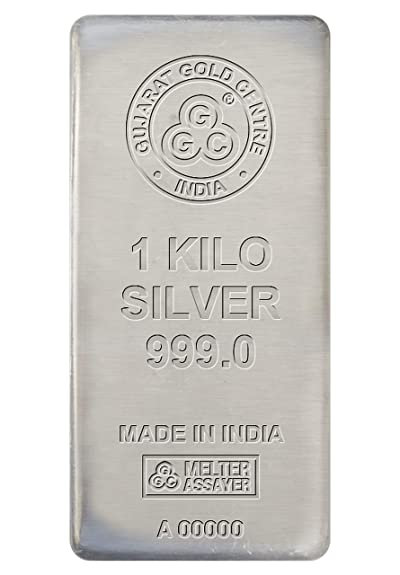 Buy Ggc Gujrat Gold Centre 24k 999 Silver 1000 Gram Silver Cast Bar Bar Online At Low Prices In India Amazon Jewellery Store Amazon In