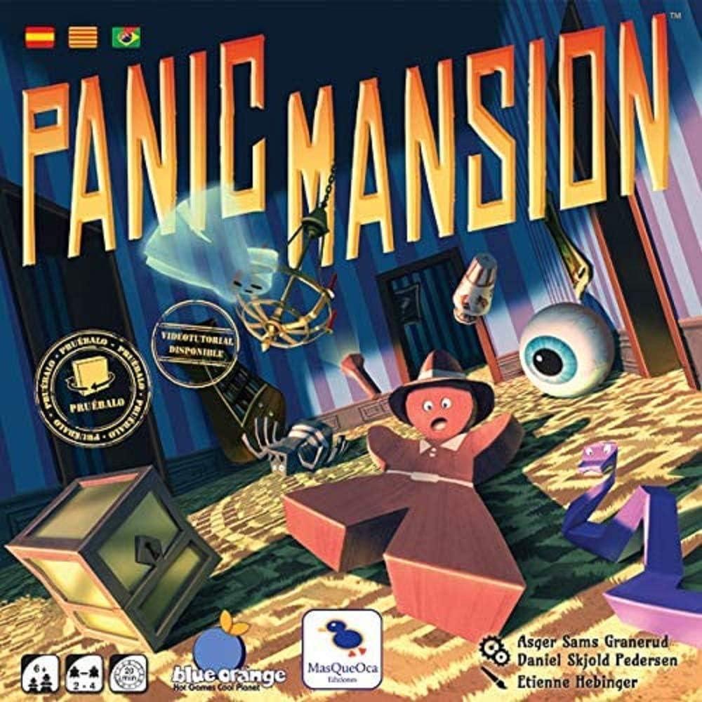 Ediciones MasQueoca - Panic Mansion (Español)(Portugués)(Catalán): Amazon.es: Juguetes y juegos