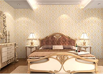 Buy Jaamso Royals Vinyl Damask Self Adhesive Peel And Stick Wallpaper Contact Paper 45 X 1000 Cm Multicolor Self Adhesive Wallpaper 9013 Jrw Online At Low Prices In India Amazon In