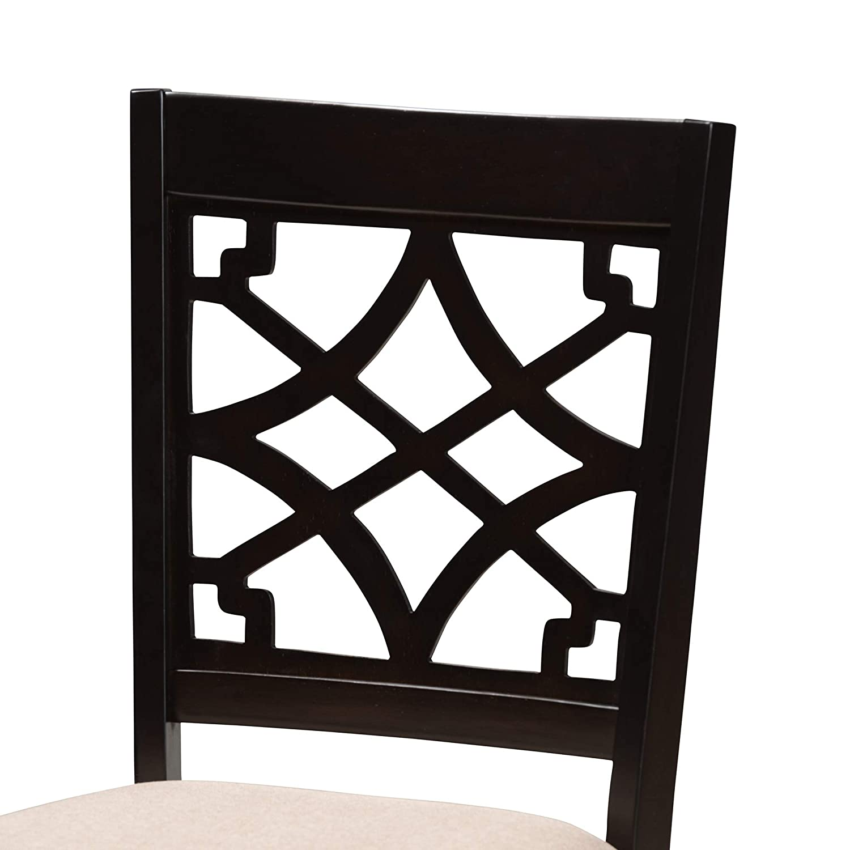 Baxton Studio 157-4PC-9727-AMZ Dining Chair 4-Piece Set Beige