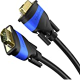 KabelDirekt 3m VGA Kabel 15 - polig ( Full HD 3D 1080p ) - TOP Series