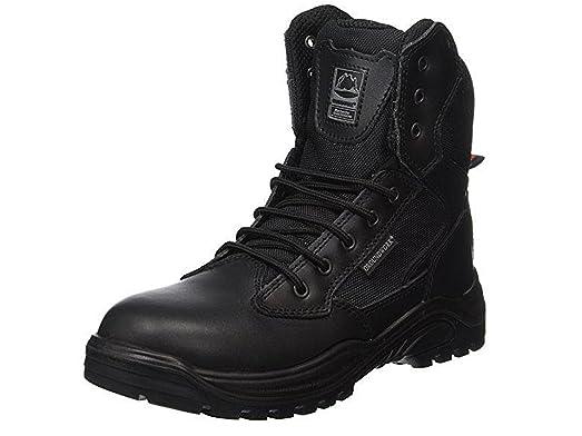 Boras - Zapatillas para hombre negro negro, color negro, talla 47 EU