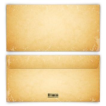 Briefumschläge 40 Stück Din Lang Vintage Für Einladungskarten Alt
