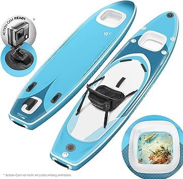Novedad de feria ISPO 2020! Premium Tabla Hinchable Paddle Surf ...