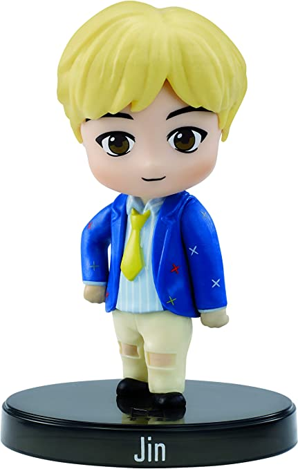 Amazon Com Bts Mini Idol Doll Jin Multicolor 3 Toys Games