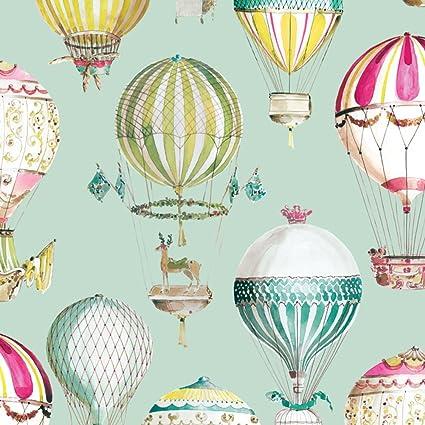 Hot Air Balloon Kids Room Wallpaper Non Woven Wallpapers Of Cartoon