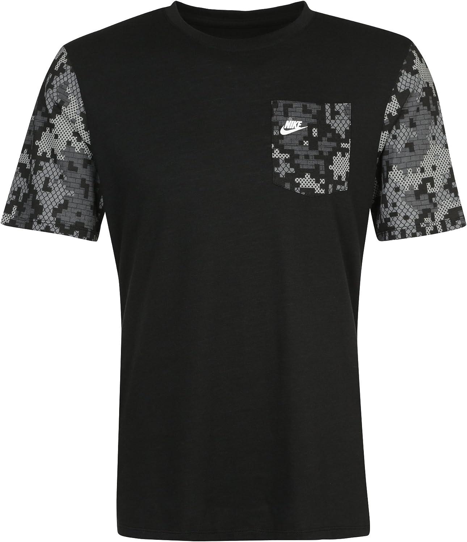 Nike Power Grid camiseta, Negro: Amazon.es: Ropa y accesorios