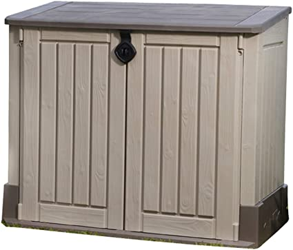 All-Weather Plastic Outdoor Keter Store-It-Out Midi 30-Cu Ft Resin Storage Shed
