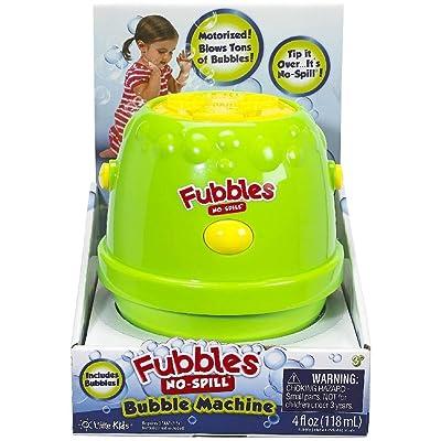 Little Kids Fubbles No-Spill Bubble Machine: Toys & Games
