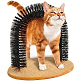 Pet Cat Self Grooming and Massaging Arch Bristles Cat Toy