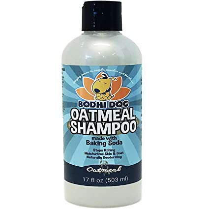 All Natural Anti Itch Oatmeal Dog Shampoo and Conditioner | Hypoallergenic Conditioning Deodorizing Formula for Dogs