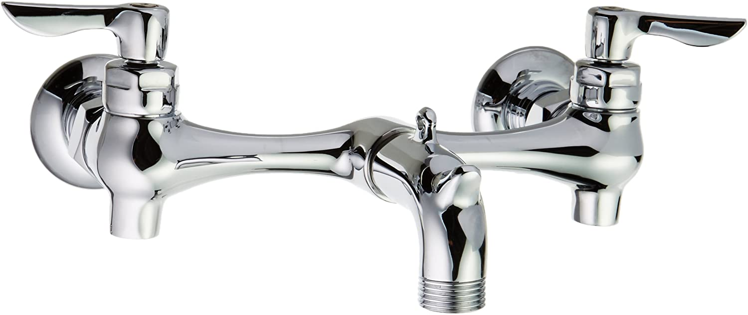 American Standard 8350235.002 Service Sink Faucet, Spout, Supply Stops, 3-Inch